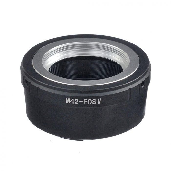 M42-EOSM Lens Mount Adapter Mount M42 To Canon EOS M EOS-M Adaptor UK Seller