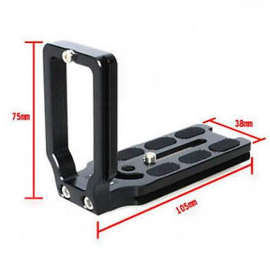 UK PU-70 Quick Release Plate Bracket For RRS//ARCA-SWISS//KIRK//Wimberley//MARKINS #